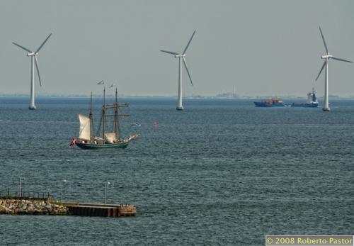 molino-viento en Cophenaghe